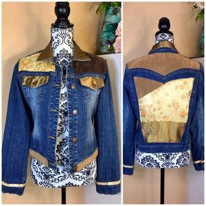 CJ Patchwork Denim Jacket